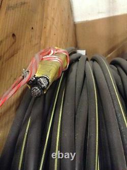 100' Erskine 6-6-6 Triplex Aluminum URD Wire Direct Burial Cable 600V