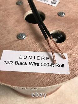 12-2 Low Voltage Outdoor Landscape Lighting Wire Cable 500ft Direct Burial