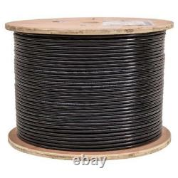 500' Cat-6 Outdoor Direct Burial Under Ground Cable Wire Gel Filled Water Block