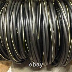 80' Dyke 2-2-2-4 Quadruplex Aluminum URD Cable Direct Burial Wire 600V