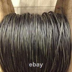 100' Notre Dame 1/0-1/0-1/0-2 Aluminium Urd Câble Direct Burial Wire 600v