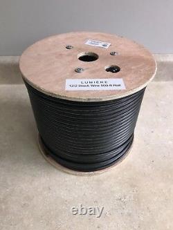 12-2 Câble D'éclairage Extérieur De Paysage À Basse Tension 500ft Direct Enterrement