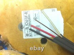 8/3 Avecgr 30' Ft Uf-b Outdoor Direct Burial Sunlt Resist Wire Cable